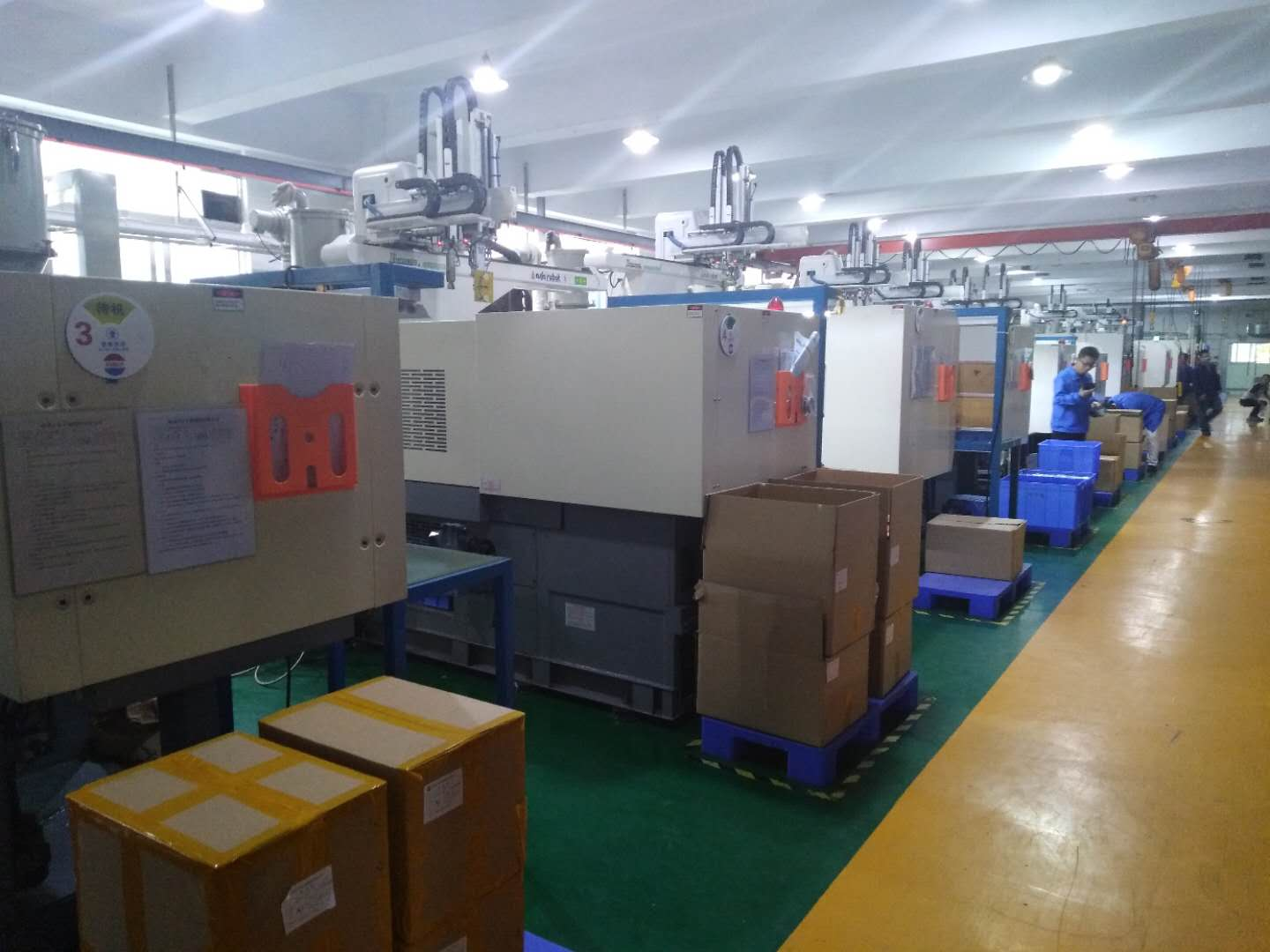 picture of our injection molding shop